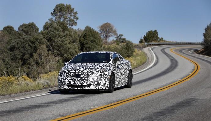 2014 Cadillac ELR spy shot