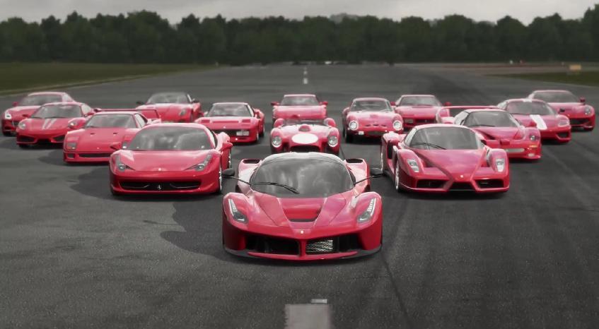 Ferrari LaFerrari tribute