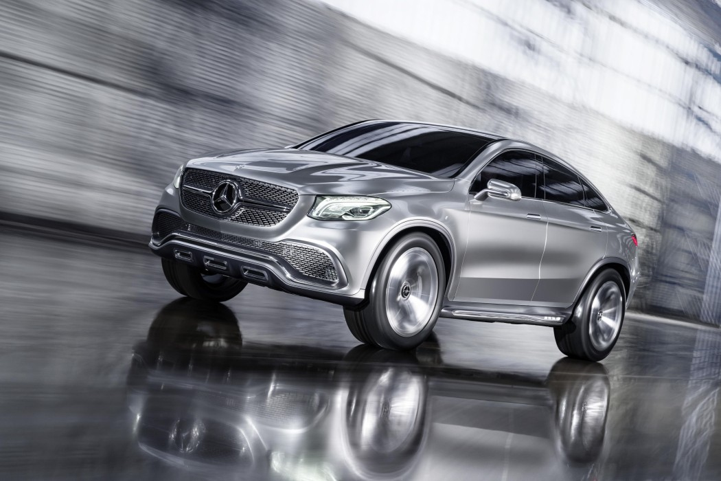 Mercedes Benz Has Unveiled A Four Door All Wheel Drive Concept Coupe Suv Featuring 333 Hp V 6 And 9g Tronic Plus 9 Sd Automatic Transmission