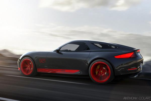 Porsche 928 successor envisioned • Carfanatics Blog
