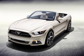2015 Ford Mustang 50 Years convertible