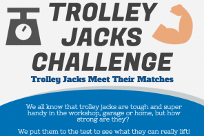 The Trolley Jack Challenge: How much can your trolley jack carry?