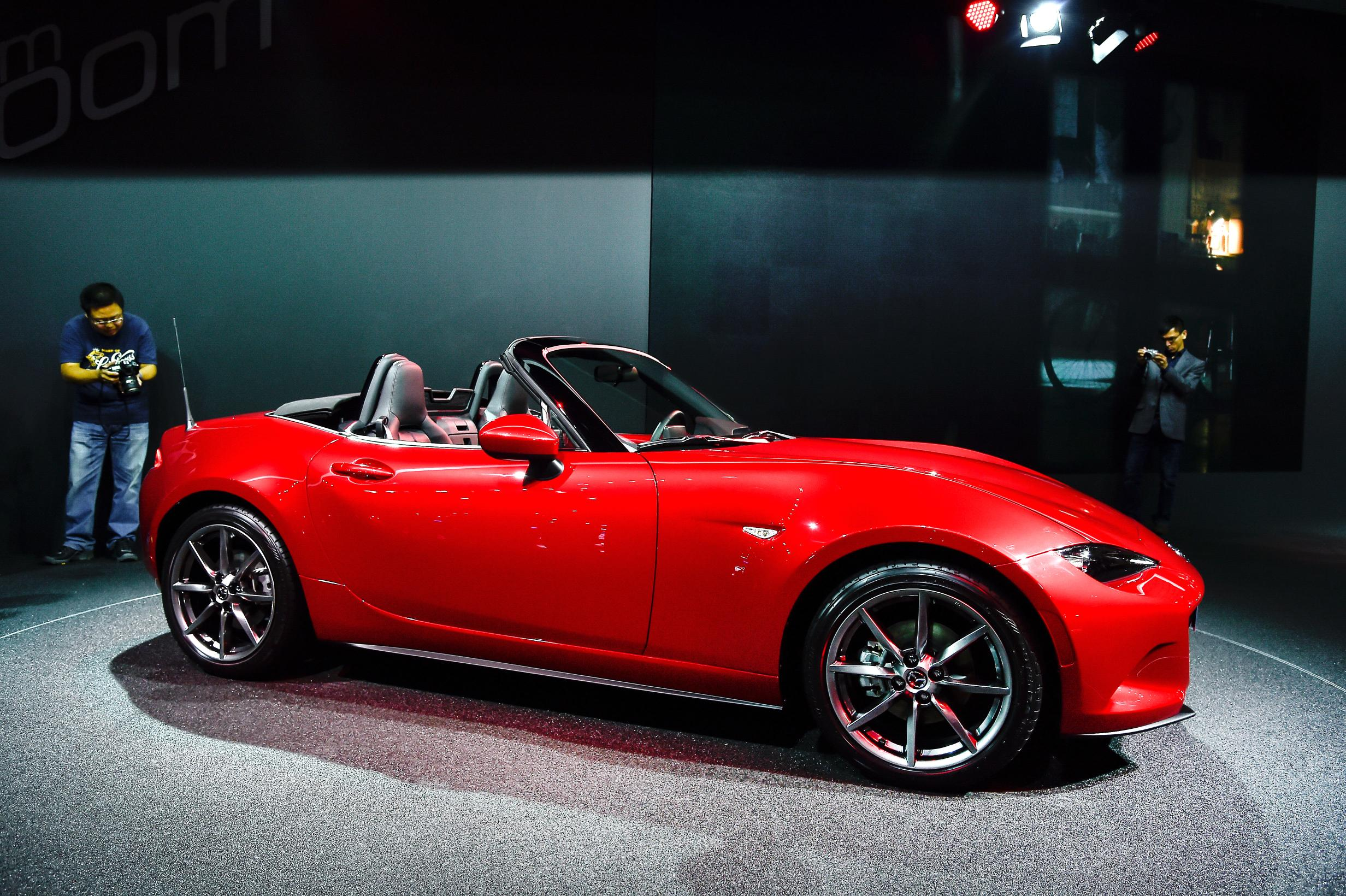 Unique 2016 Mazda MX5 Miata Live Photos 2014 Paris Motor Show