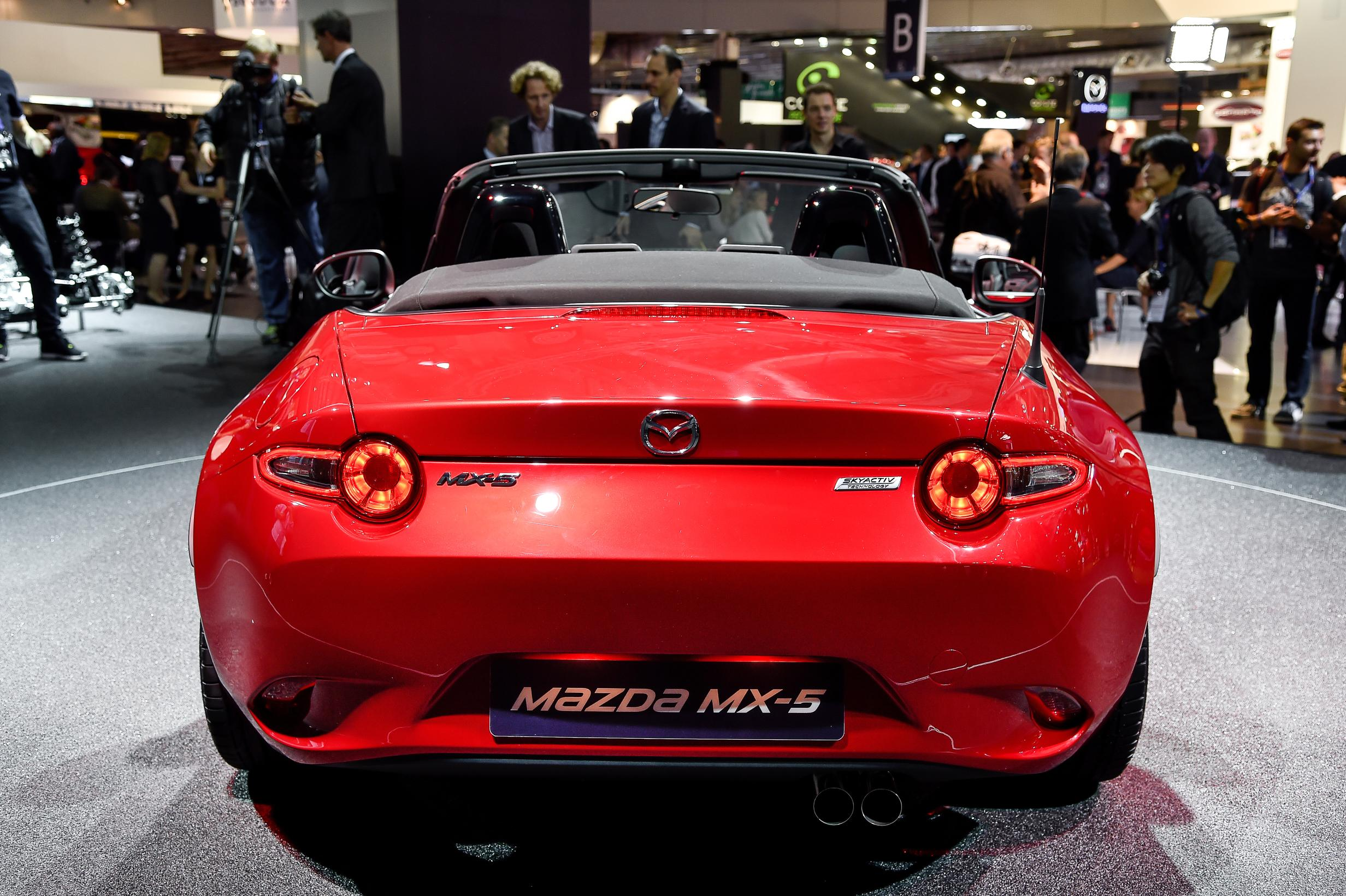 Amazing 2016 Mazda MX5 Miata Live Photos 2014 Paris Motor Show