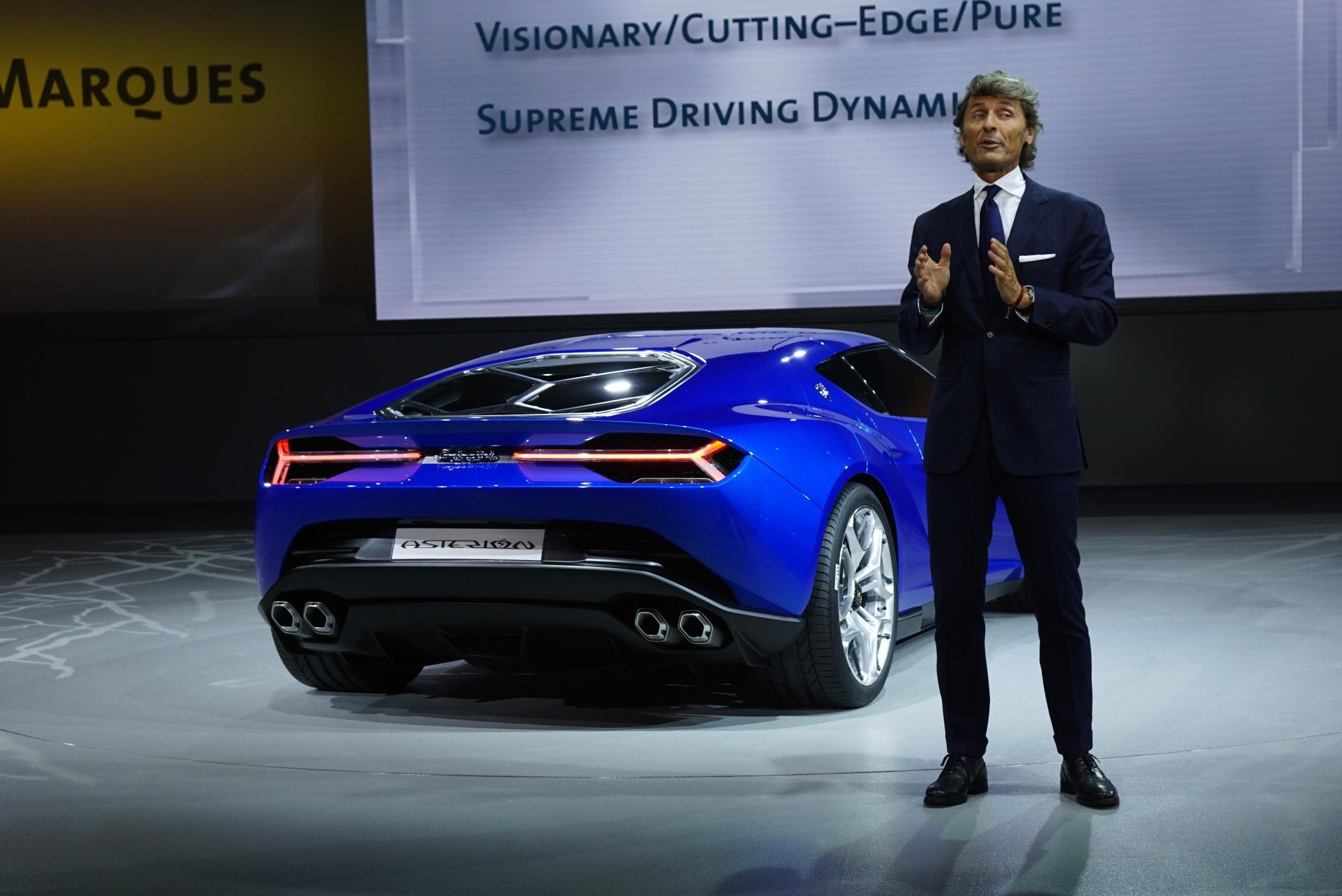 Lamborghini Asterion Lpi 910 4 Live Photos 2014 Paris