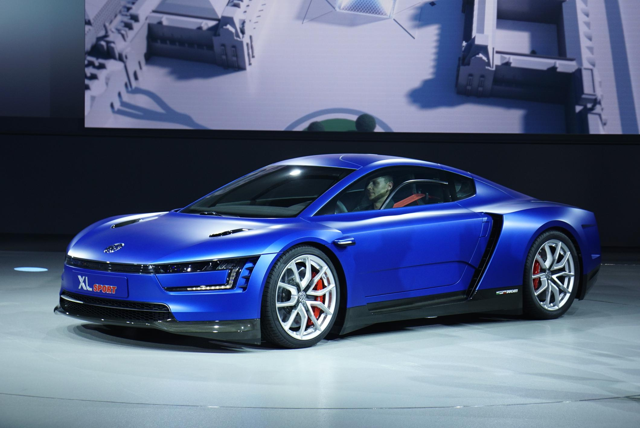 Volkswagen Xl Sport Live Photos 2014 Paris Motor Show