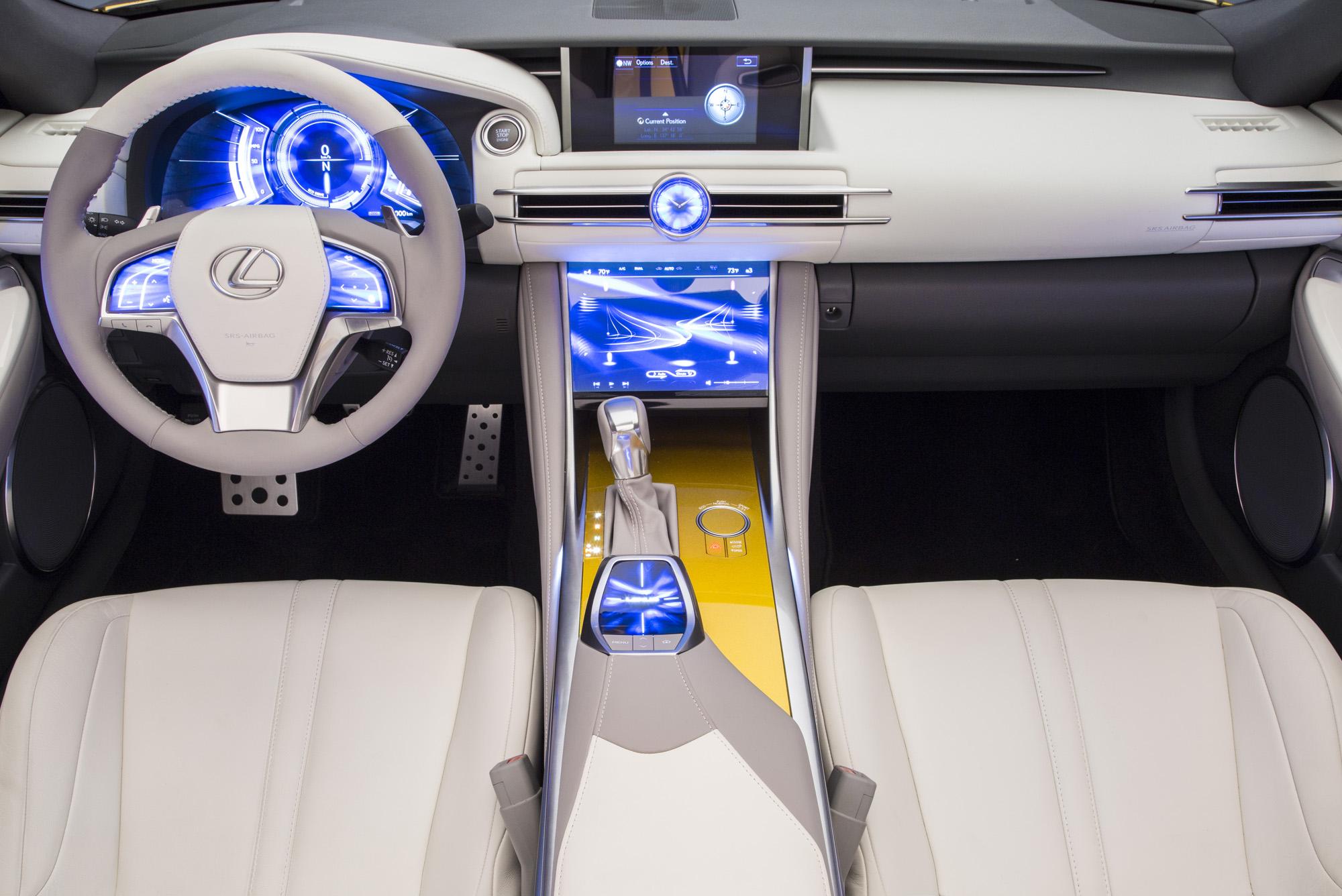 Lexus LF-C2 Concept • Carfanatics Blog
