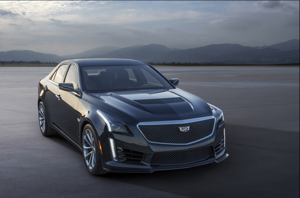 2016 Cadillac CTS-V dazzles with 640 hp, 3.7-second 0-60 time ...