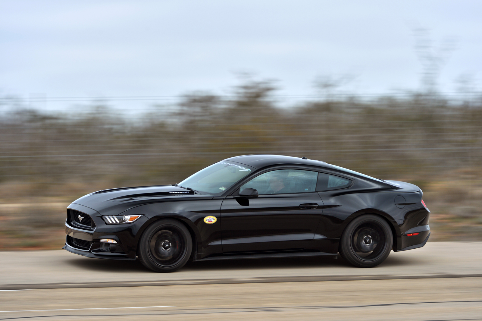 Hennesseytuned Mustang hits 1952 mph  CF Blog