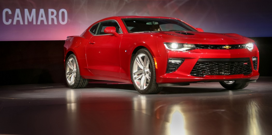 The 2016 Chevrolet Camaro: 200 pounds lighter with more ...