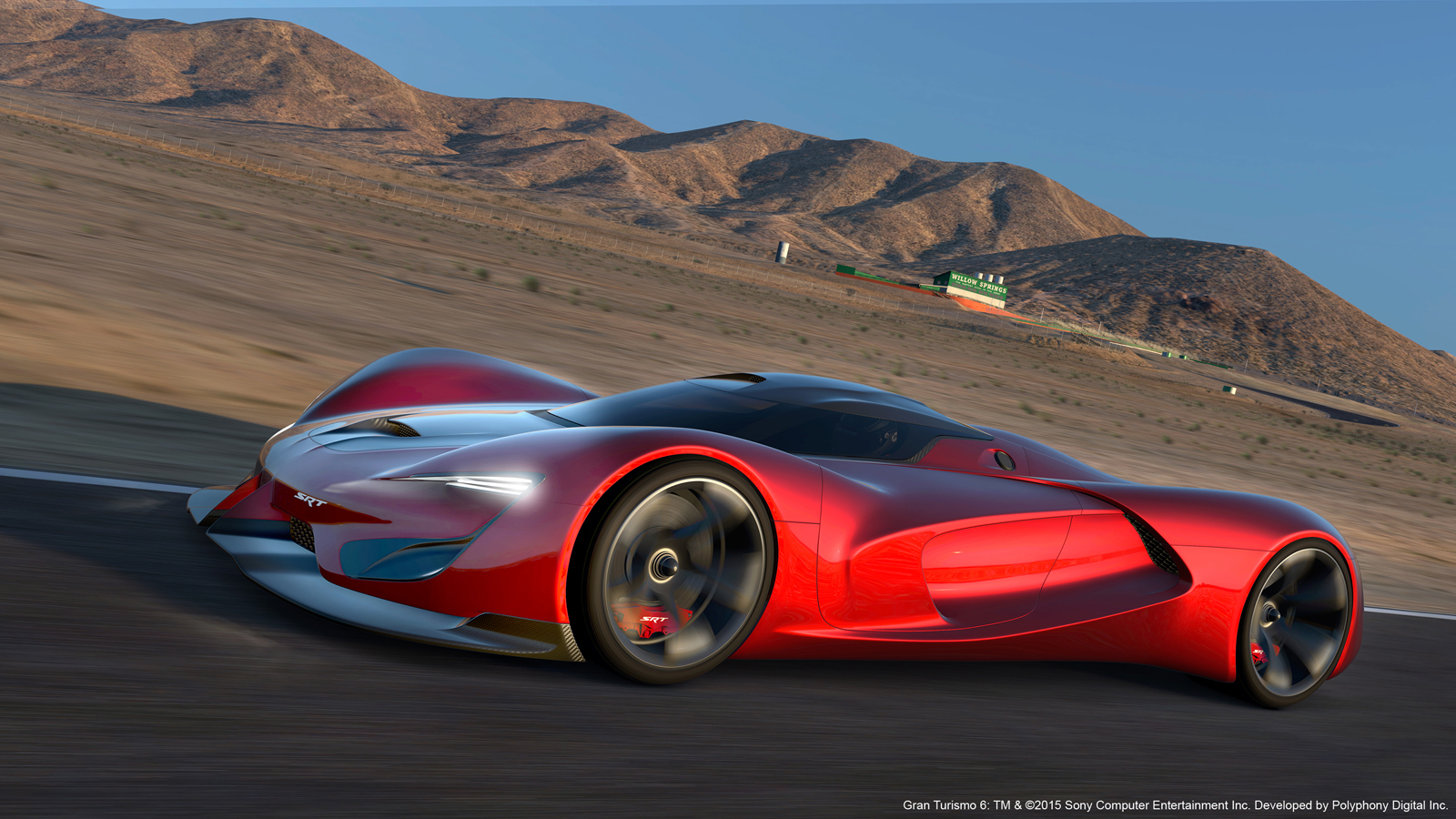 The 2,590-hp SRT Tomahawk Vision Gran Turismo is the future – now