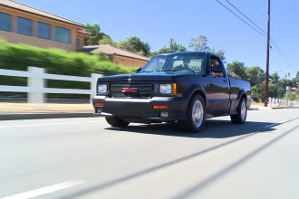 1991 GMC Syclone pickup truck