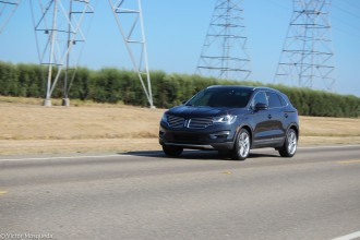 2015 Lincoln MKC 2.3-liter EcoBoost AWD