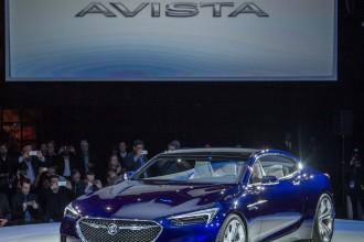Buick Avista Concept live photos: 2016 NAIAS