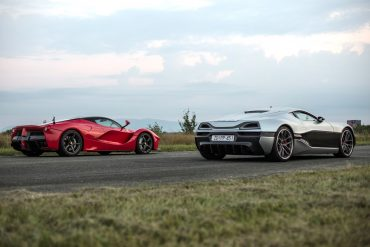 Watch a Rimac Concept_One drag race a LaFerrari