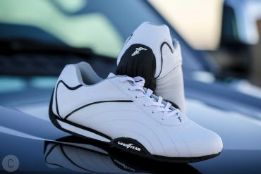 The Goodyear Ori shoe is sheer excellence in white and black
