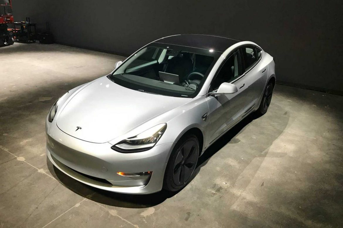 Tesla Model 3 for sale at an insane price