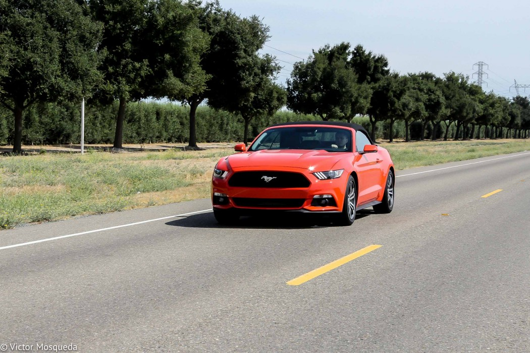 2015 Ford Mustang Convertible 2.3-liter EcoBoost