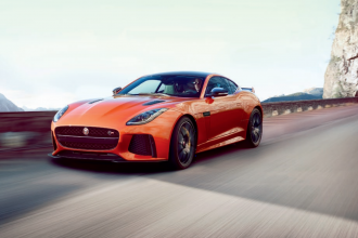 2017 Jaguar F-TYPE SVR leaked, will have 575 hp