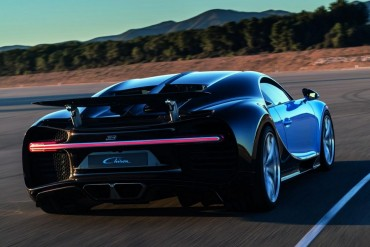 Listen to the Bugatti Chiron rev