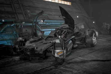 Watch Jay Leno drive the new Justice League Batmobile